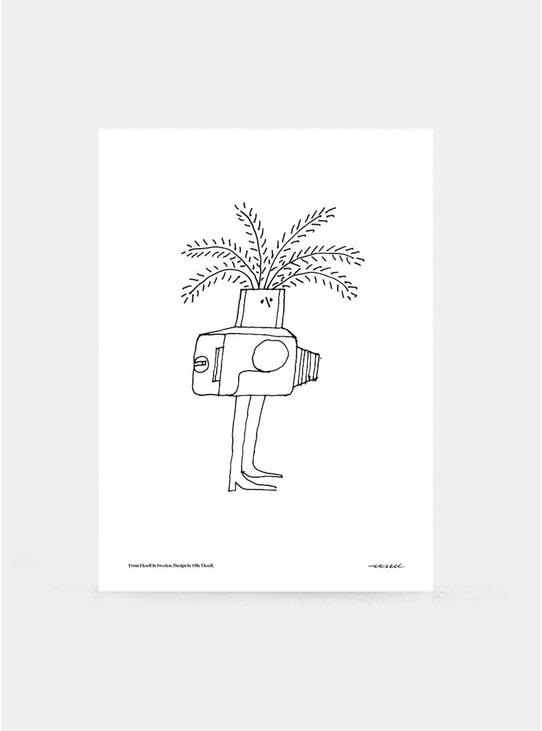 Hasselblad Camera Print