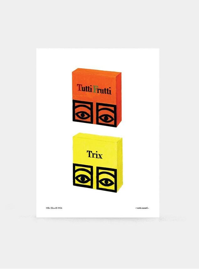 Tutti Frutti & Trix 1956 Print