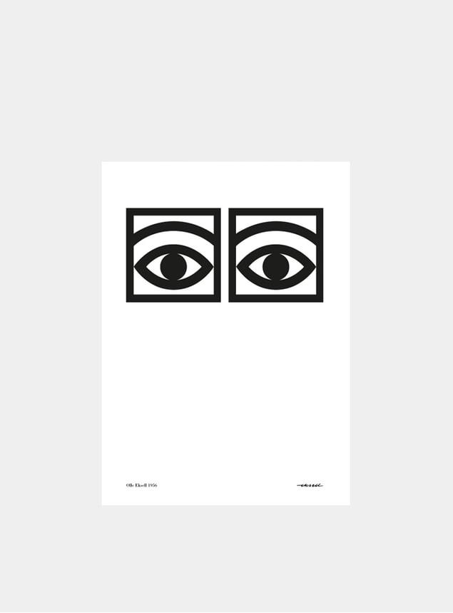 Black & White Ogon Cacao 1956 One Eye A4