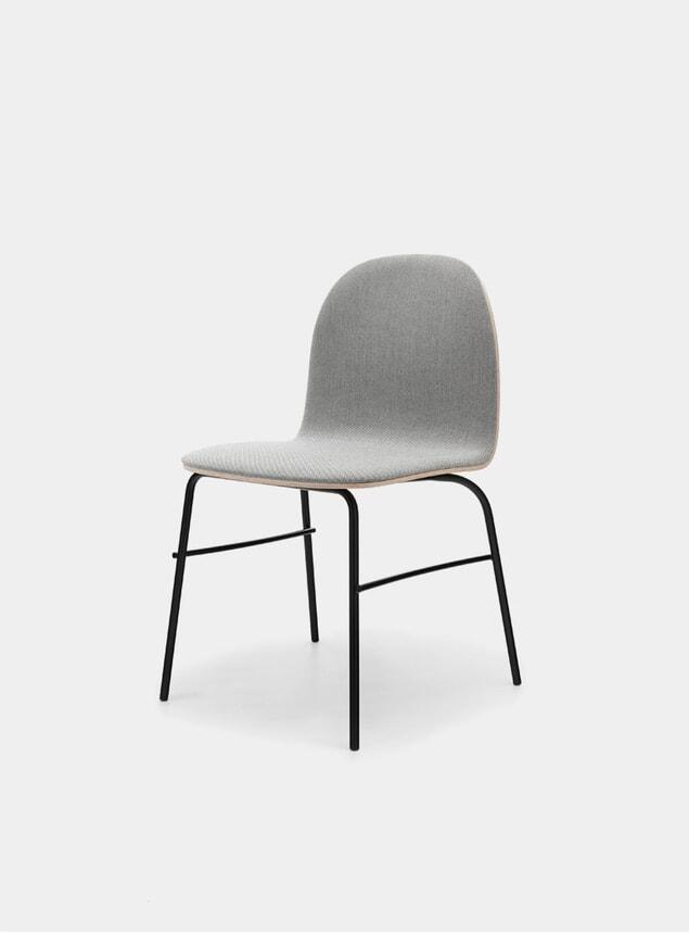 Grey Melange / Metal Terra Chair