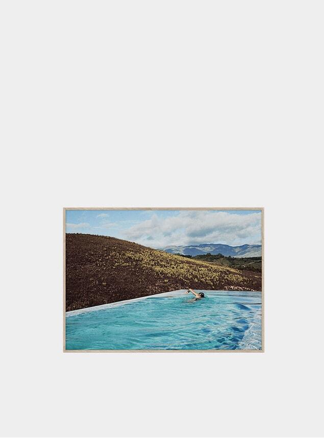 Swim Print by Kristian Holm
