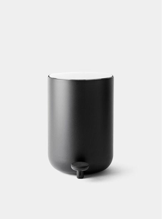 Black Pedal Bin