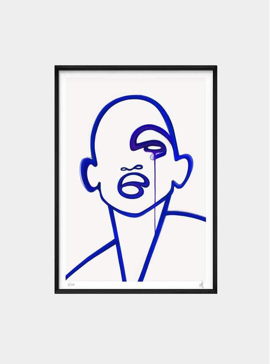 Faberblau Limited Edition Print