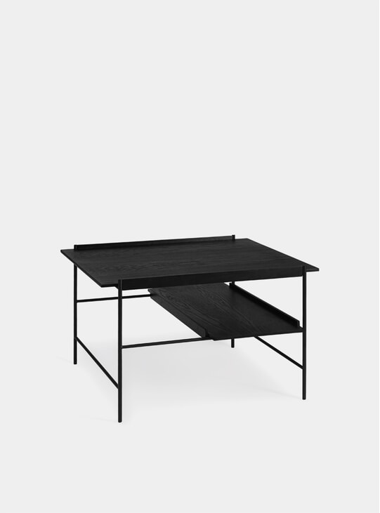 Stained Black Kanso Coffee Table