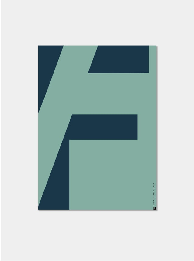 Cut F Poster