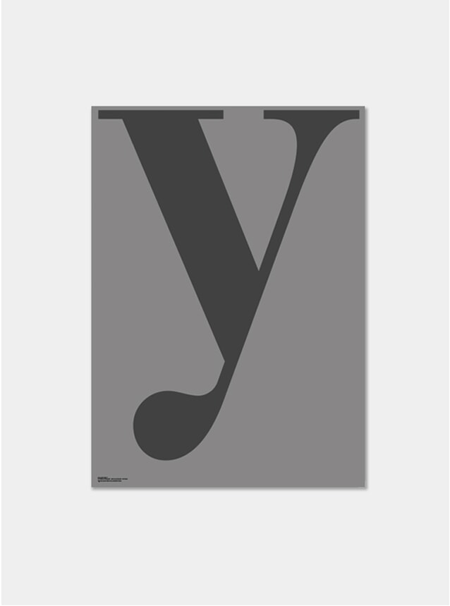 Grey Y Poster