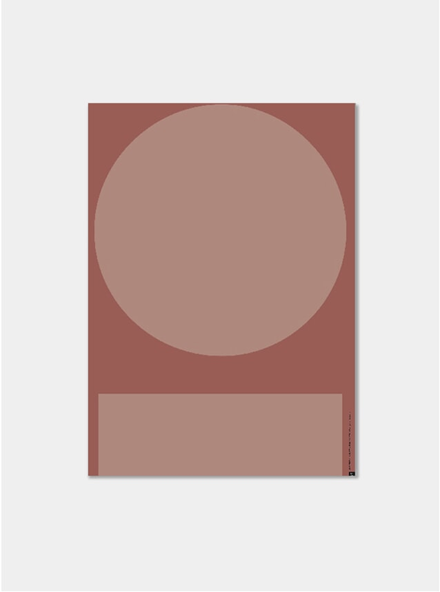 Terracotta In and Out Poster