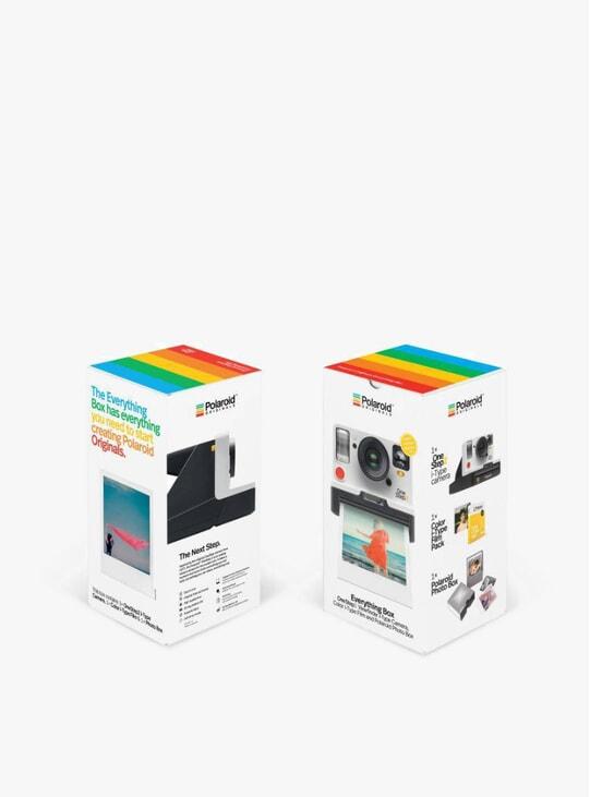 The Everything Box Set inc. White OneStep 2 VF Camera,Film & Photo Box