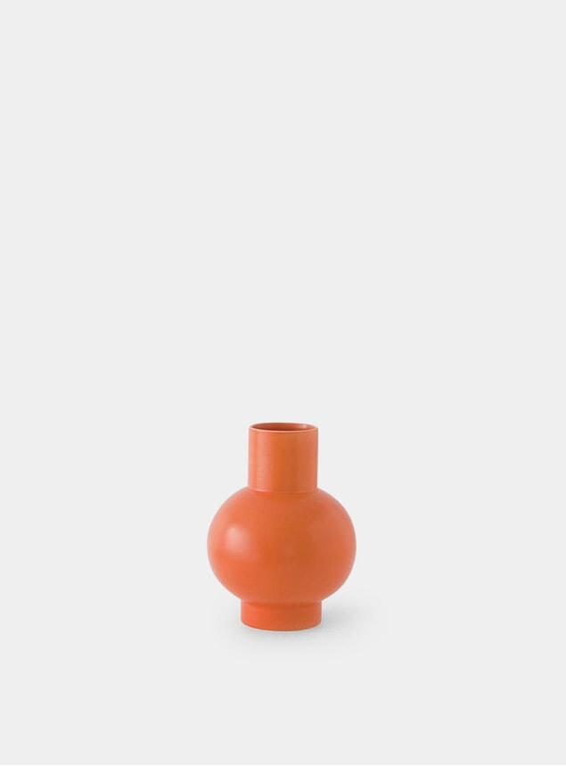 Orange Small Vase