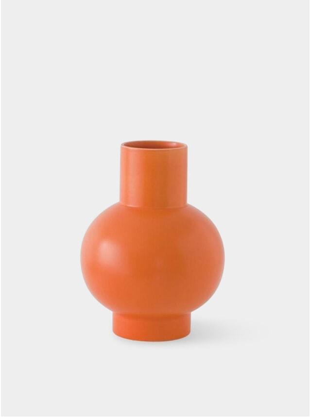 Vibrant Orange Extra Large Vase