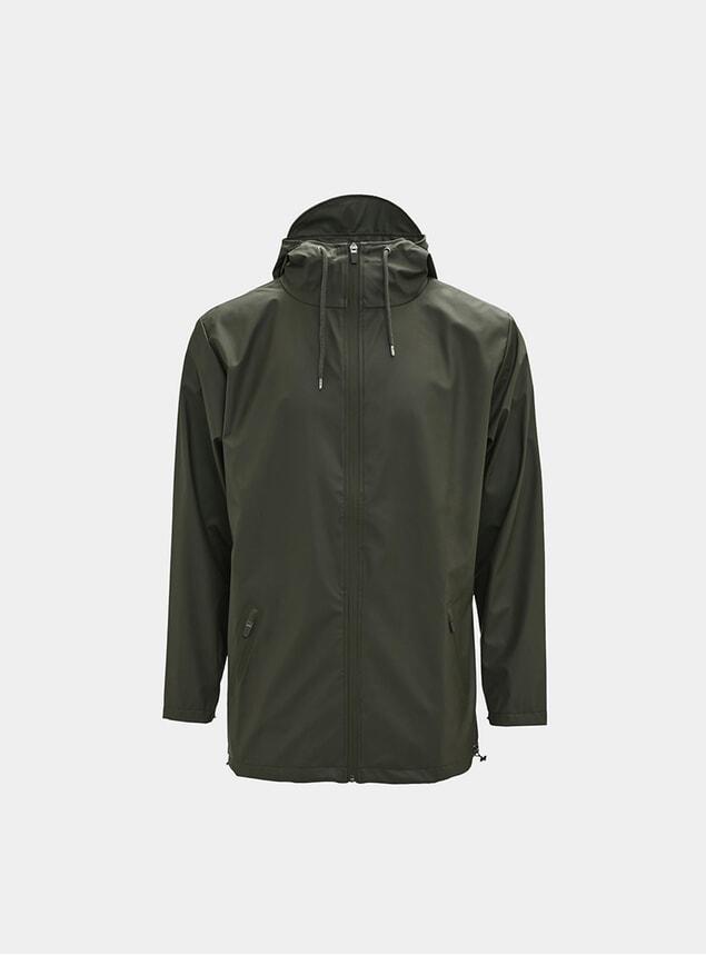 Green Breaker Coat