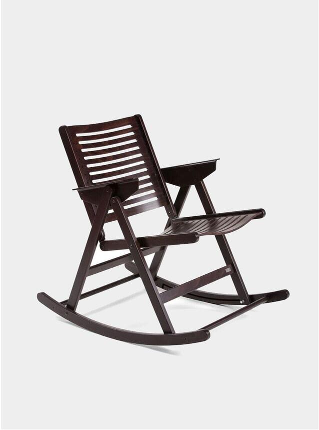 Dark Brown Rex Rocking Chair