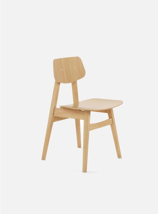 Oak 1960 Dining Chair