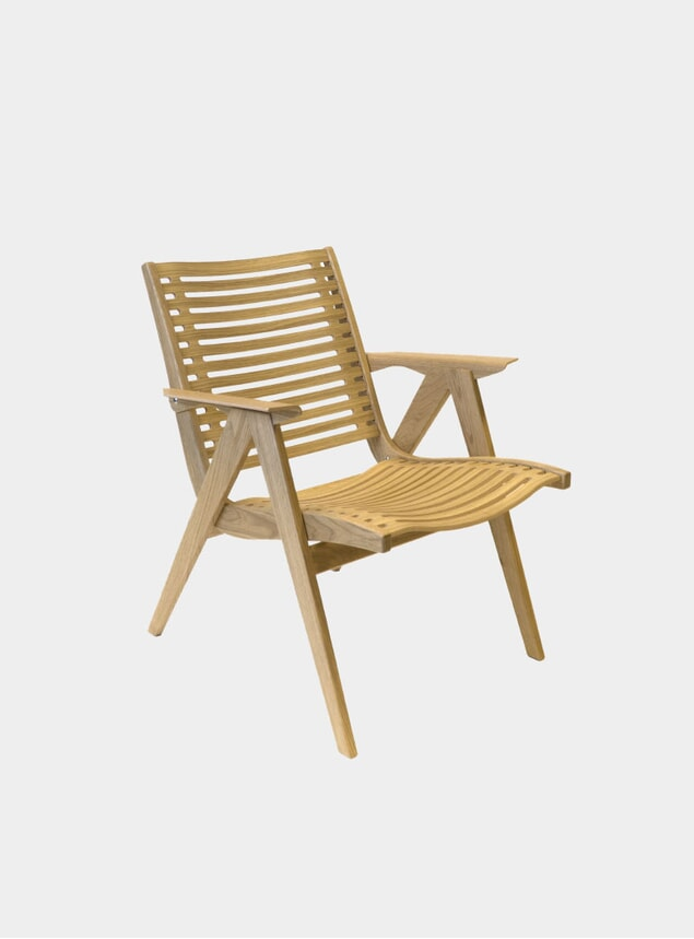 Oak 120 Lounge Chair