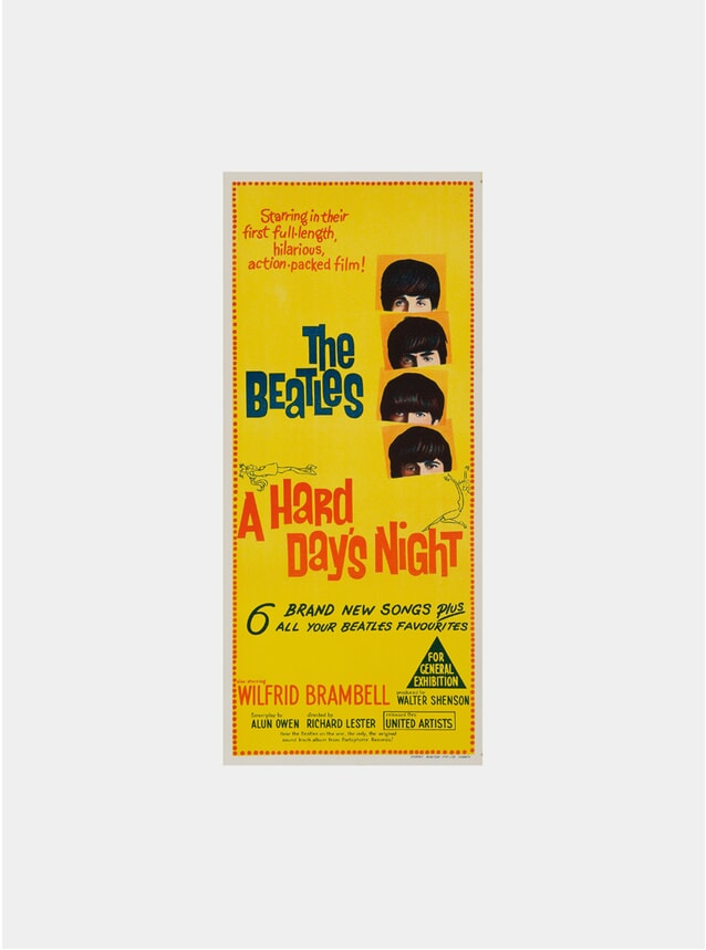 A Hard Day's Night, 1964 Original Poster
