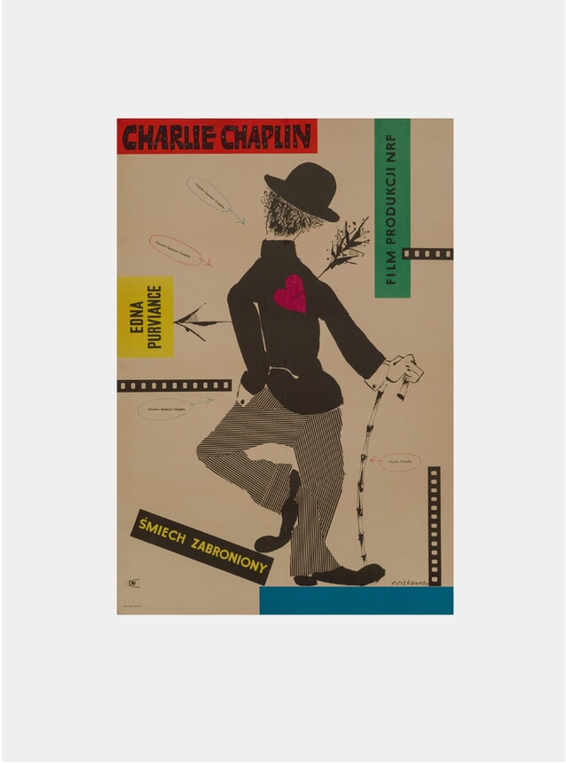 Charlie Chaplin Festival, 1957 Original Poster