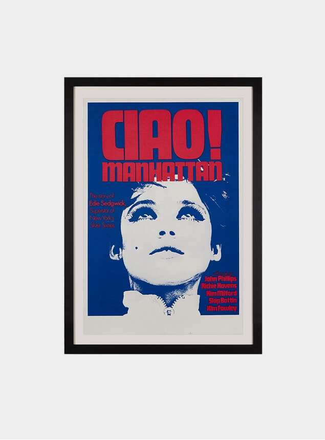 Ciao! Manhattan, 1973 Original Poster