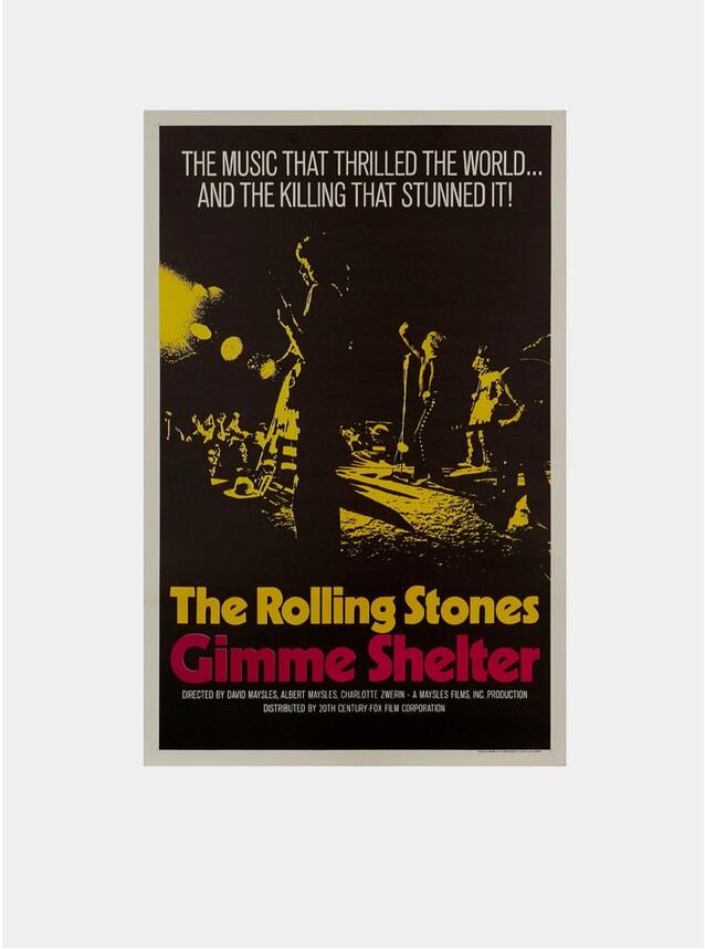 Gimme Shelter, 1970 Original Poster