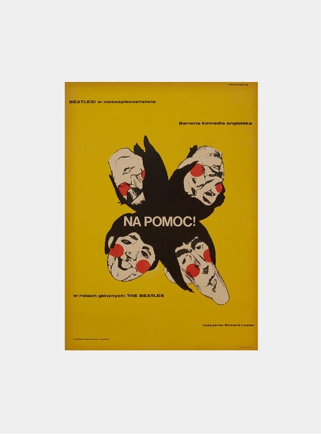 Help!, 1967 Original Poster