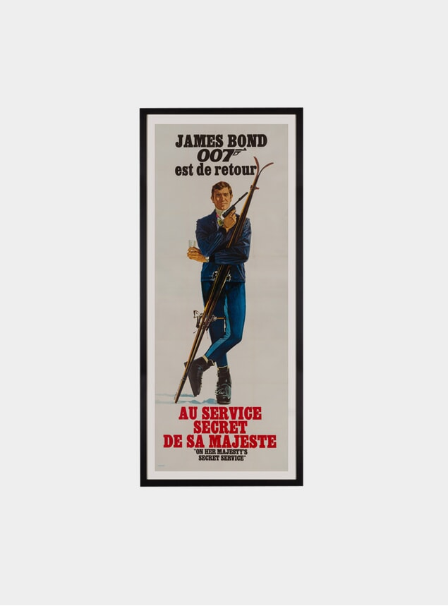 On Her Majesty's Secret Service, Original Poster