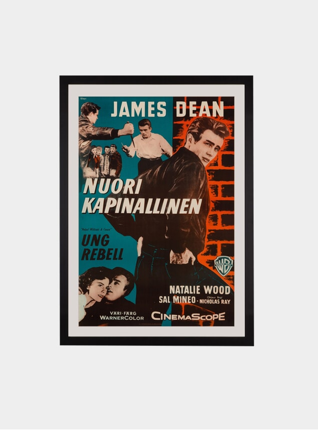 Rebel Without A Cause, 1956 Original Poster