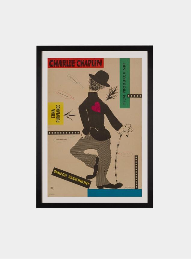 The Charlie Chaplin Festival, 1957 Original Poster