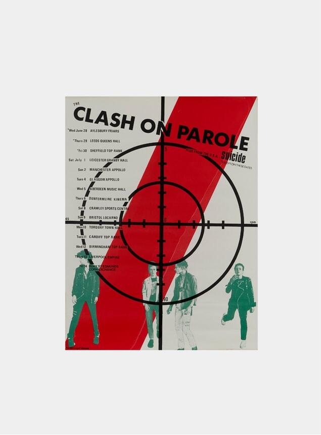 The Clash, 1978 Original Poster