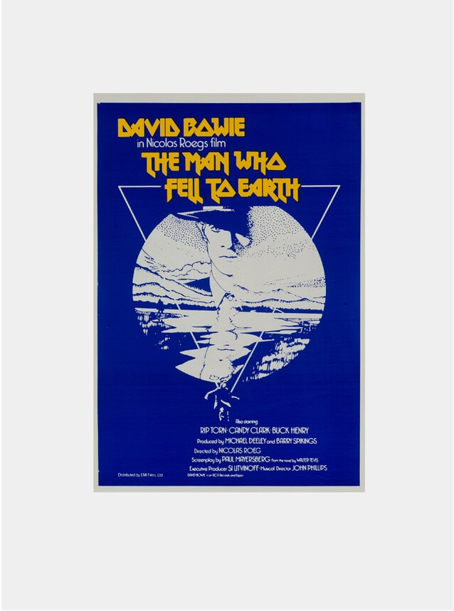 The Man Who Fell To Earth, 1976 Original Poster