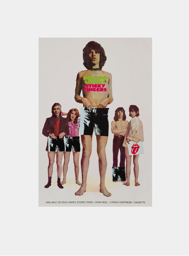 Rolling Stones, 1971 Original Poster