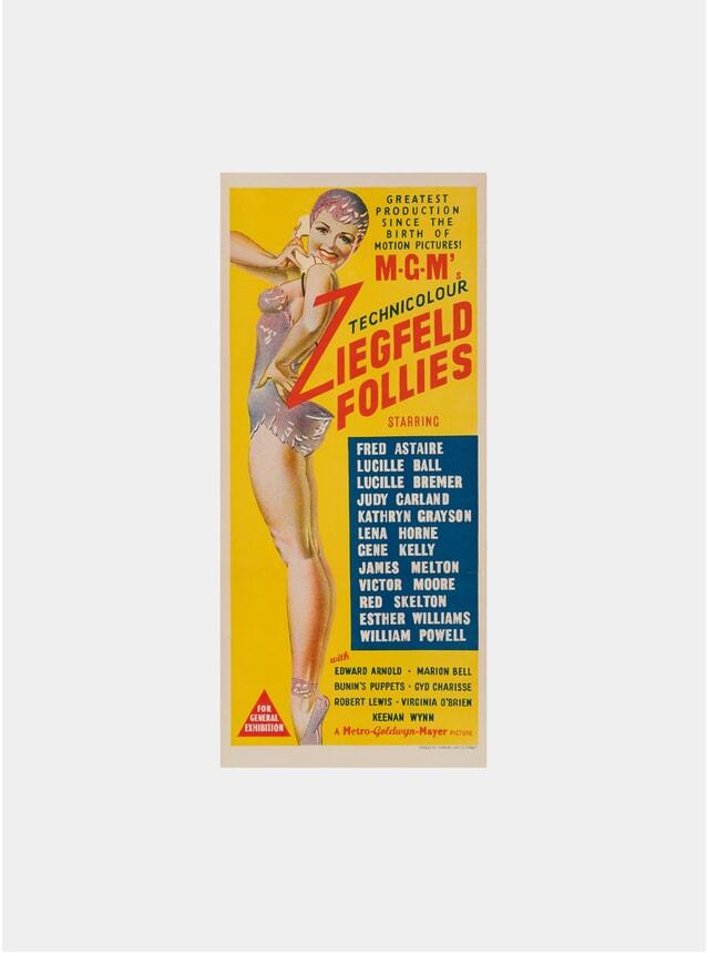 Ziegfeld Follies, 1945 Original Poster