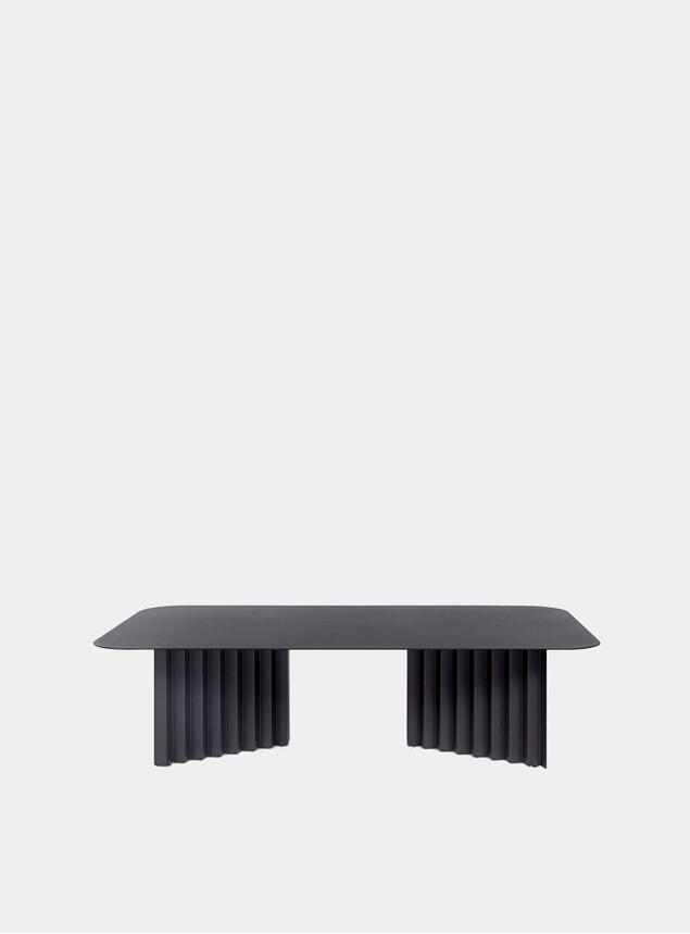 Black Steel Plec Table