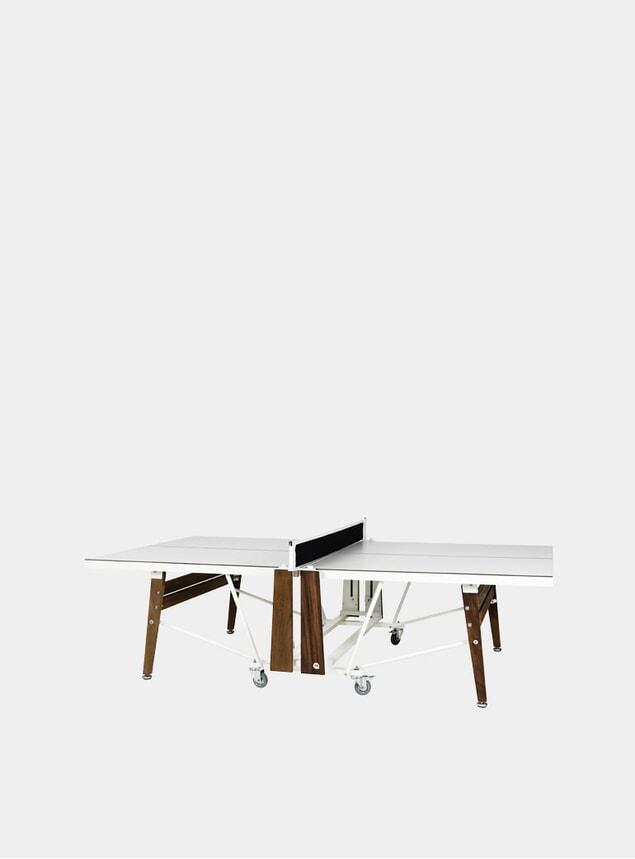 White Folding Ping Pong Table