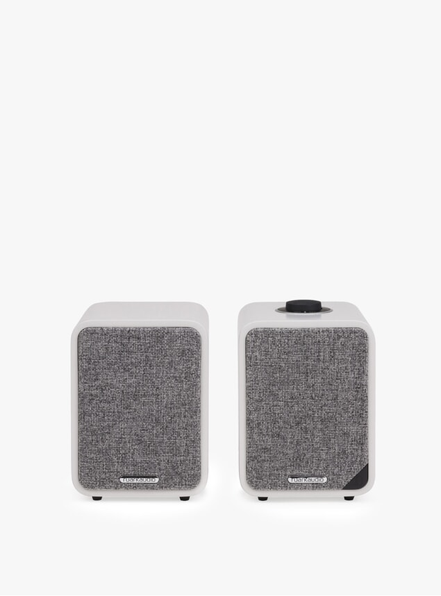 Soft Grey MR1 Bluetooth Speaker System