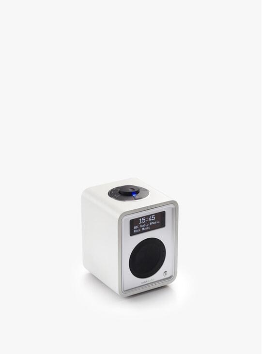 Soft White R1 Deluxe Bluetooth Radio