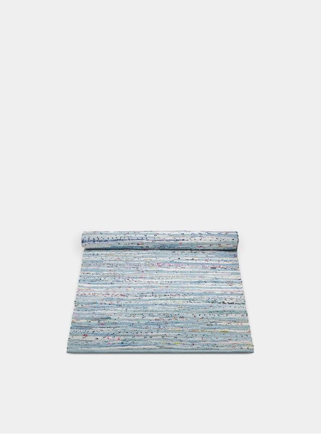Blue Mix Cotton Rug