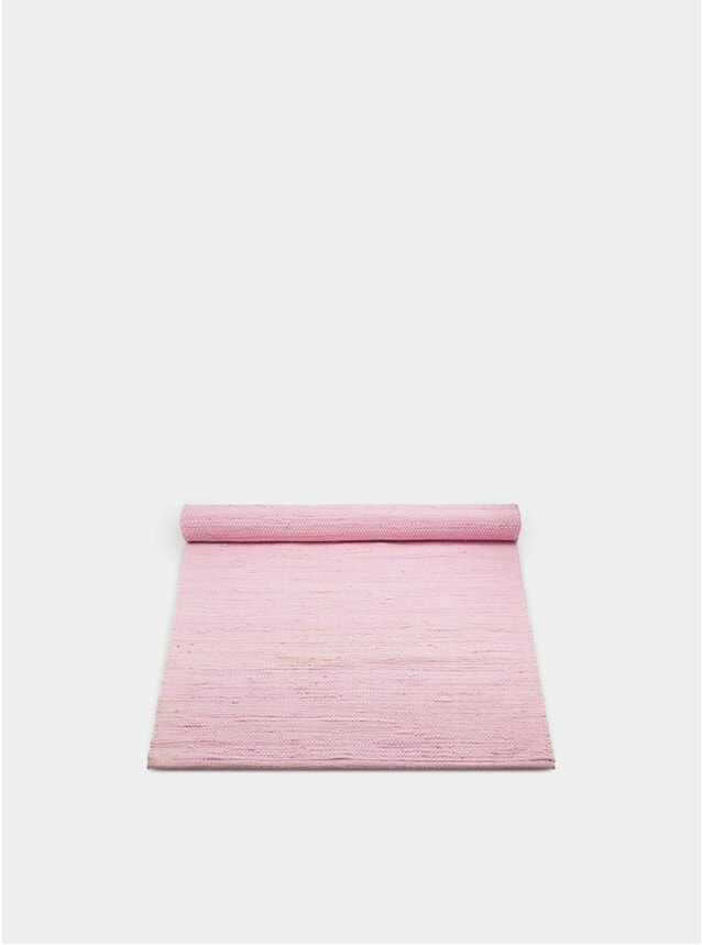 Candyfloss Pink Cotton Rug