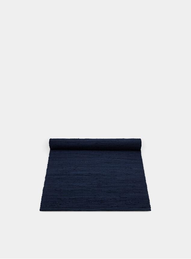 Deep Ocean Cotton Rug