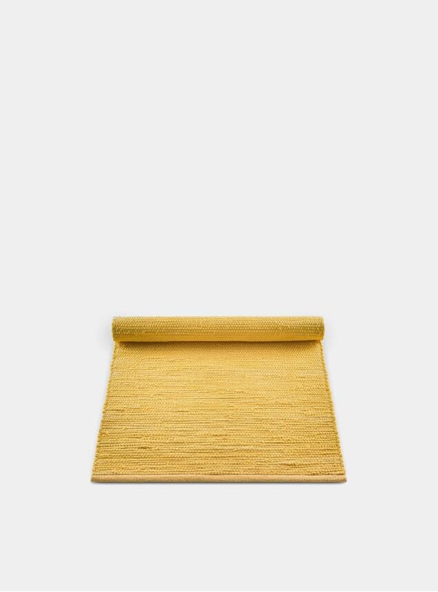 Raincoat Yellow Cotton Rug