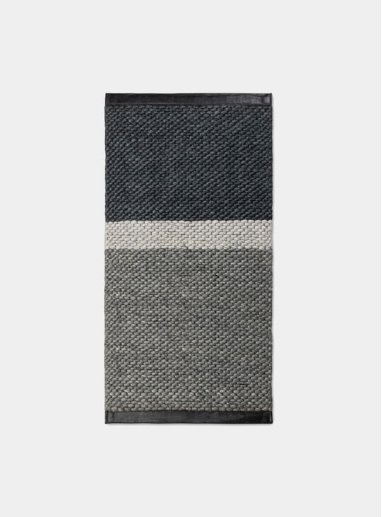 Grey Gravel Landscape Rug