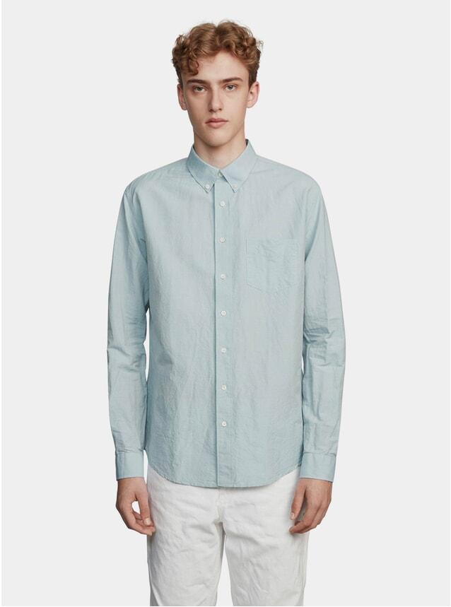 Blue / Green Linen Shirt