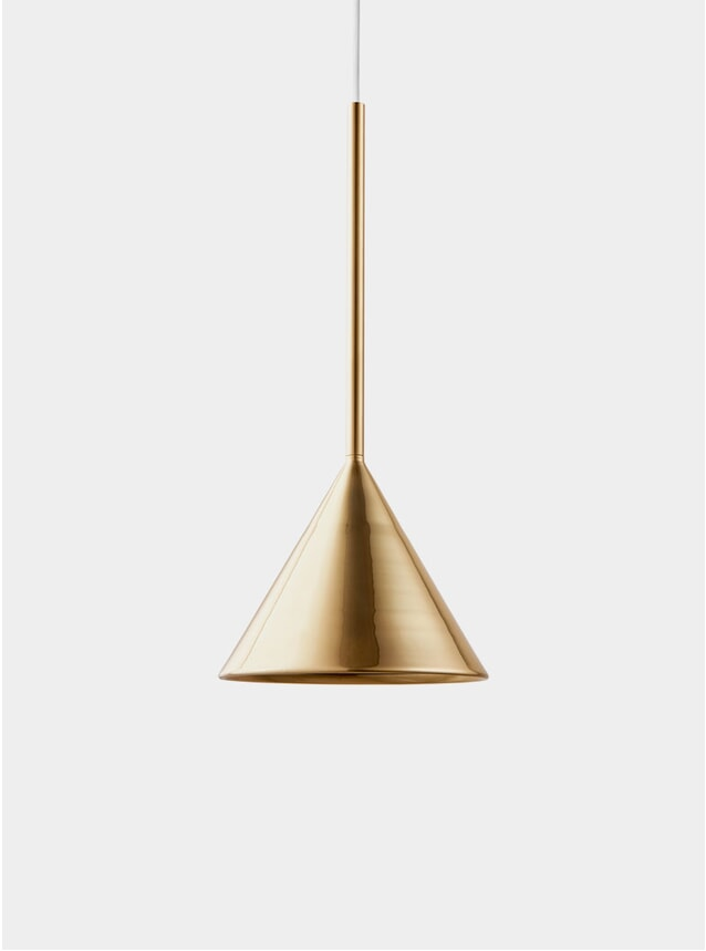Brass Figura Cone Lighting