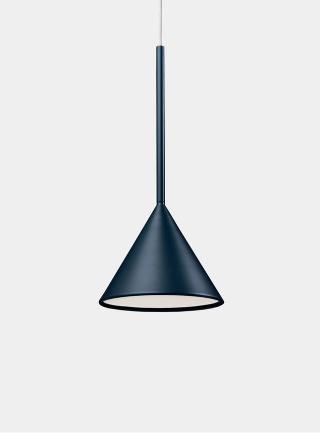Midnight Blue Figura Cone Lighting