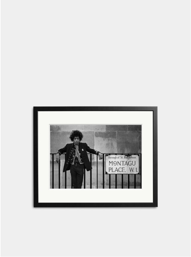 Jimi Hendrix Montagu Place Photograph