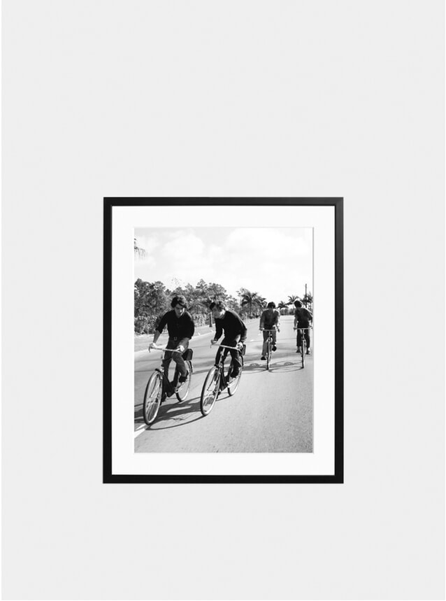Beatles On Bikes Photograph