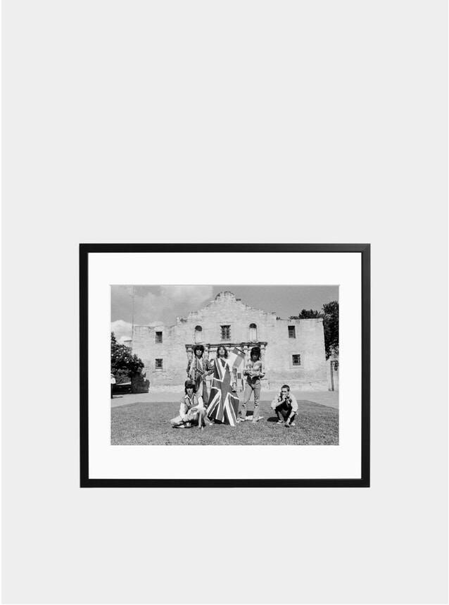 Rolling Stones at the Alamo Photograph