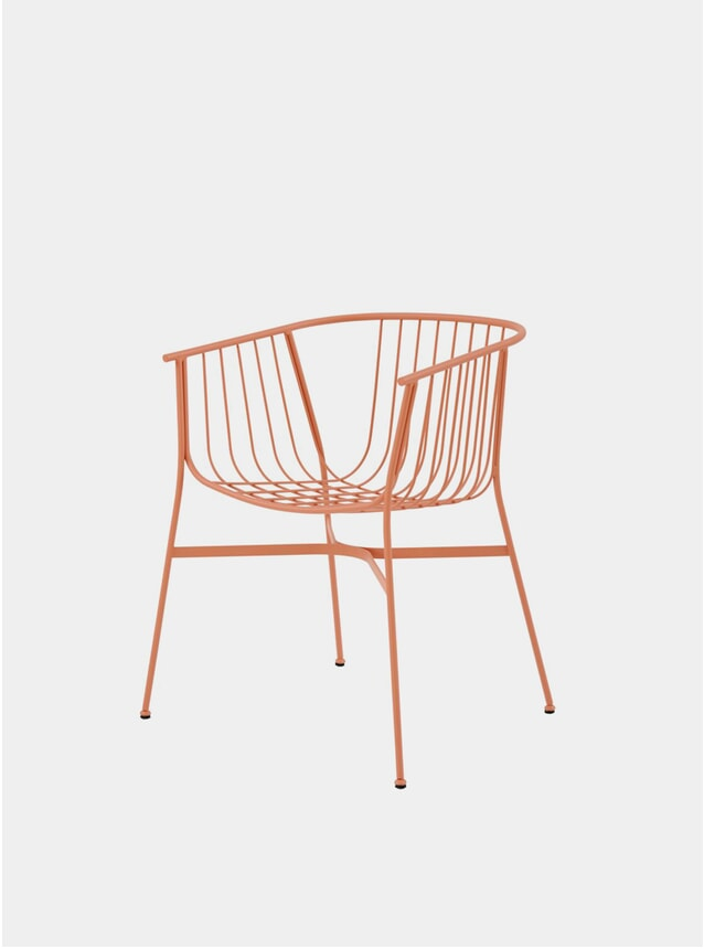 Salmon Jeanette Chair