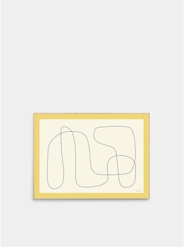 Compostion Print 02 Print by Rubin Studio