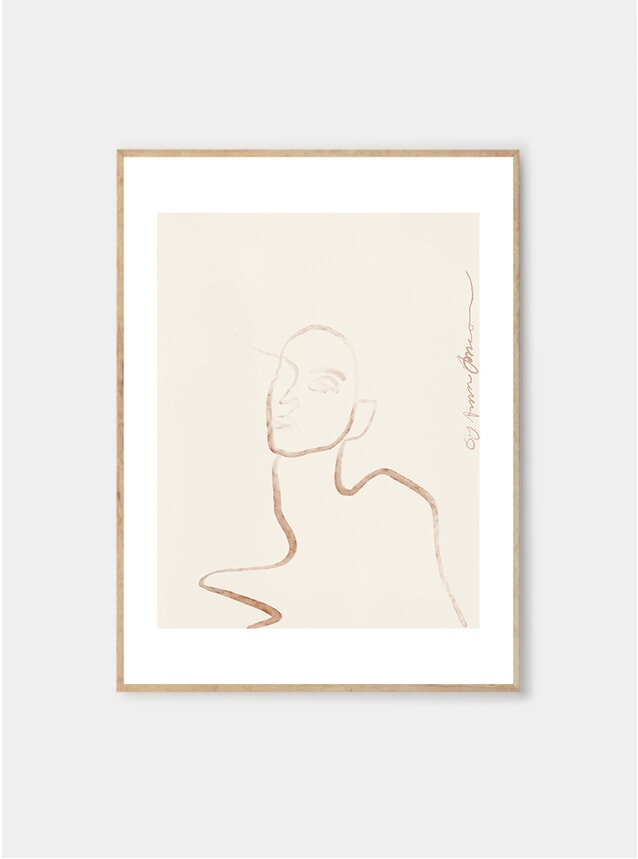 Moi Print by Anna Johansson