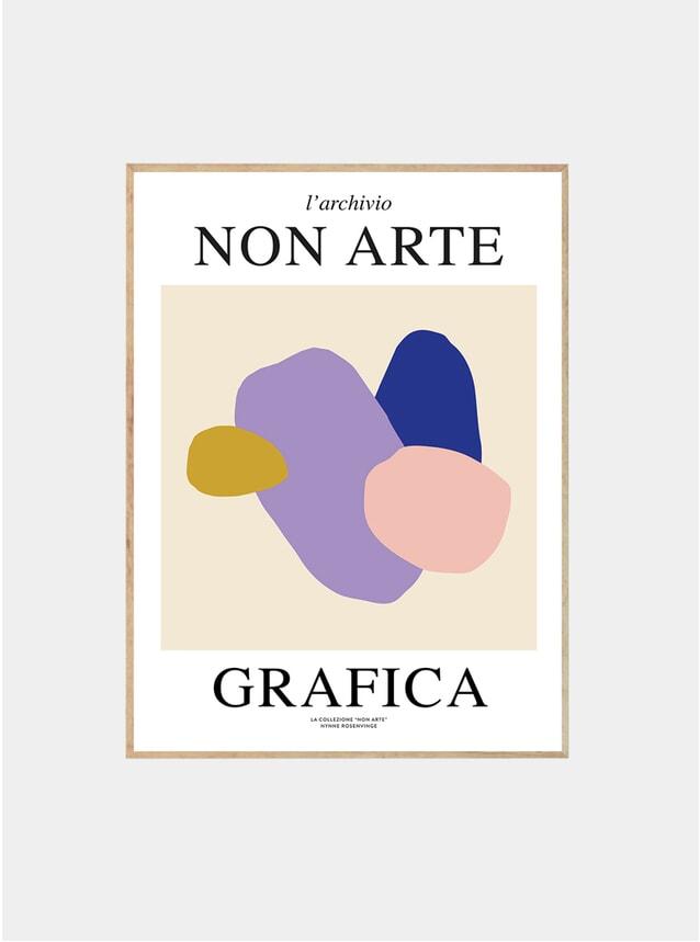 Non Arte Grafica 01 Print By Nynne Rosenvinge