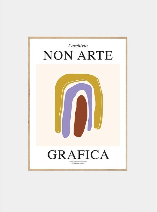 Non Arte Grafica 03 Print by Nynne Rosenvinge